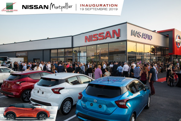 Lancement national du nouveau Juke à la concession Nissan Montpellier.